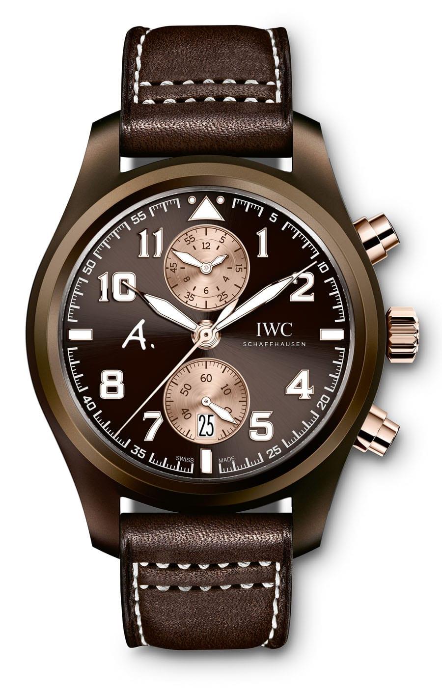 "IWC: Fliegeruhr Chronograph Edition ""The Last Flight"" Rotgoldvariante"