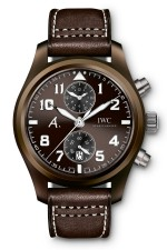 "IWC: Fliegeruhr Chronograph Edition ""The Last Flight"" Titanvariante"