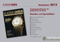 Klassik Uhren Mediadaten