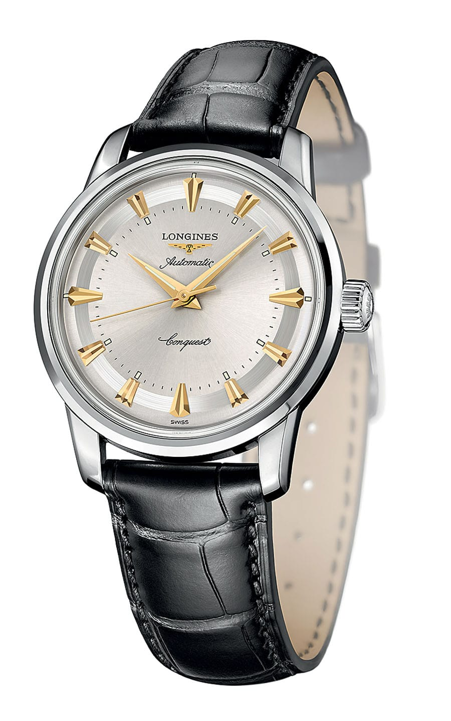Longines. Conquest Heritage 1954-2014. Edelstahlmodell