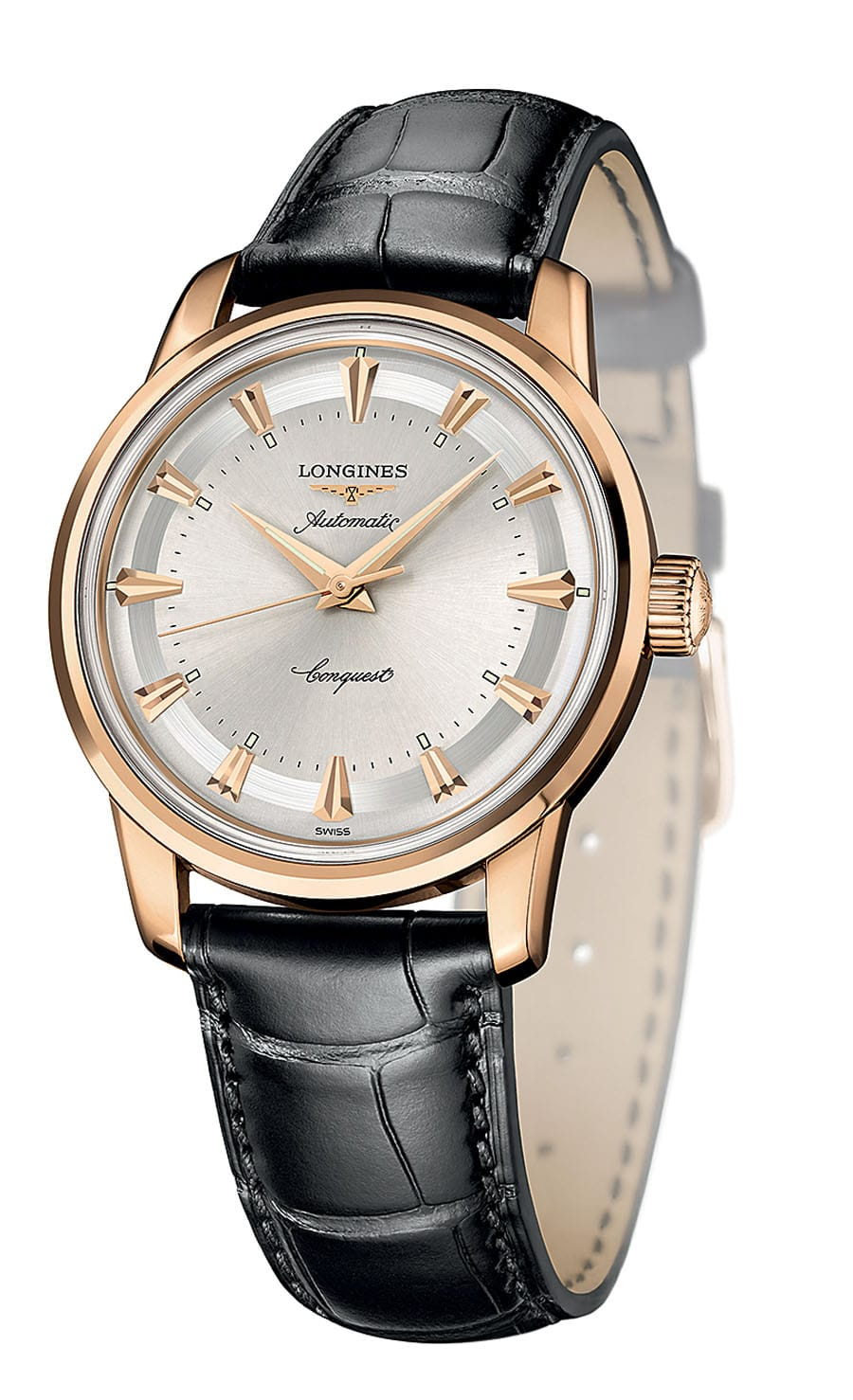 Longines. Conquest Heritage 1954-2014. Roségoldmodell