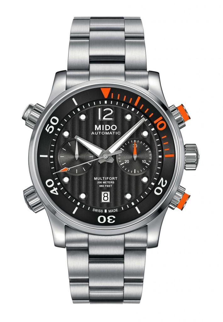 Mido: Multifort Chronograph Caliber 60