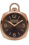 Panerai: Pocket Watch 3 Days in Oro Rosso, sprich Rotgold