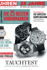 Uhren-Magazin Ausgabe September/Oktober 2014