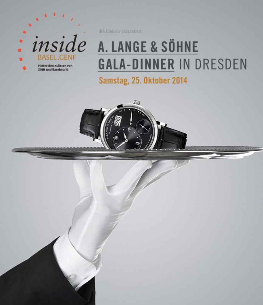 IBG Exklusiv präsentiert: A. Lange & Söhne Gala-Dinner