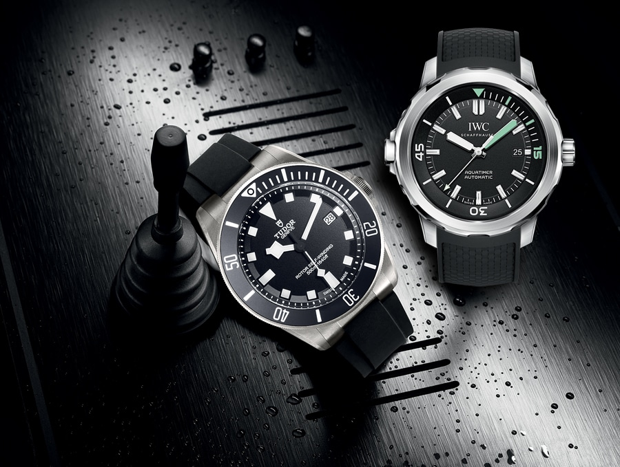 Download Vergleichstest Taucheruhren: IWC Aquatimer Automatic vs. Tudor Pelagos