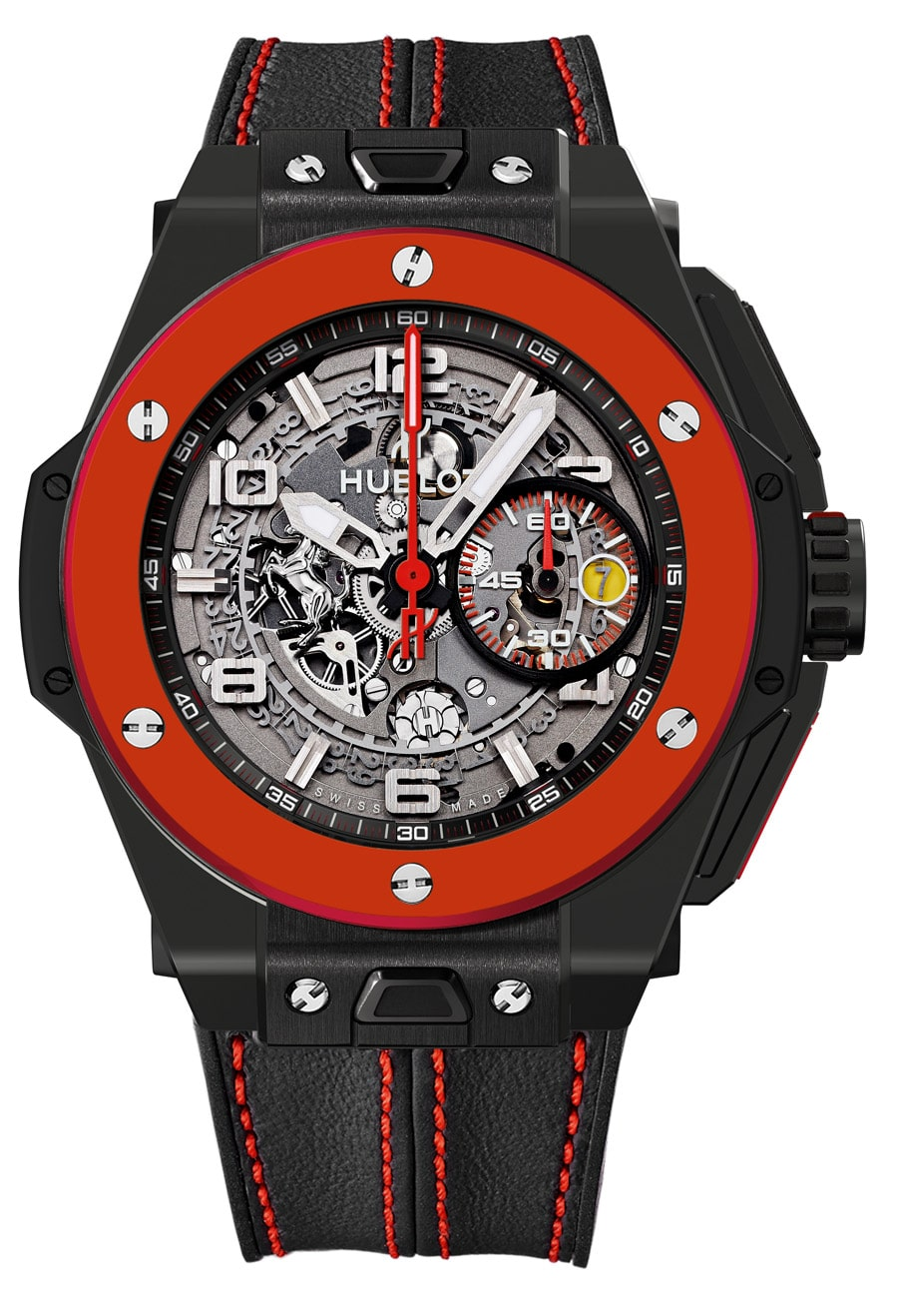 neue uhr hublot big bang ferrari red ceramic uhrforum. Black Bedroom Furniture Sets. Home Design Ideas