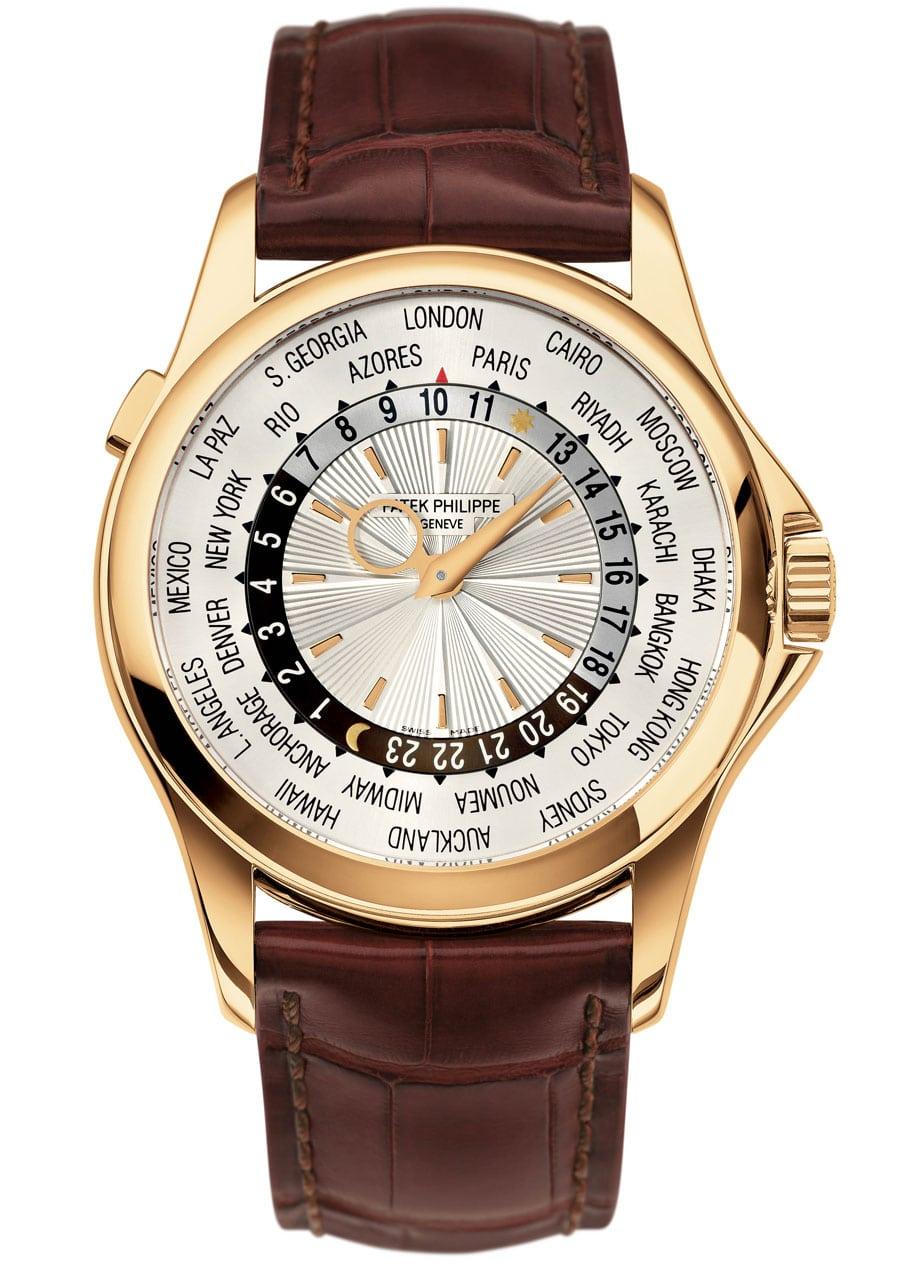 Auch die Weltzeituhr Referenz 5130 von Patek Philippe für 34.160 Euro sollte sicher aufbewahrt werden