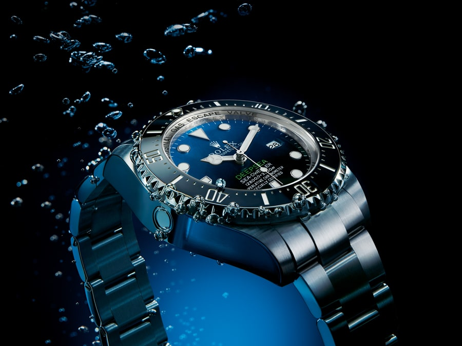 Rolex: Deepsea D-Blue Dial Edition