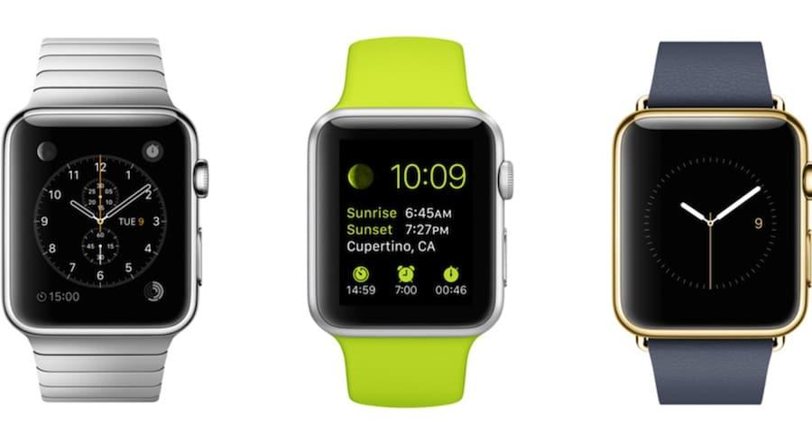 Von der Apple Watch wird es drei Kollektionen mit zahlreichen Varianten geben.