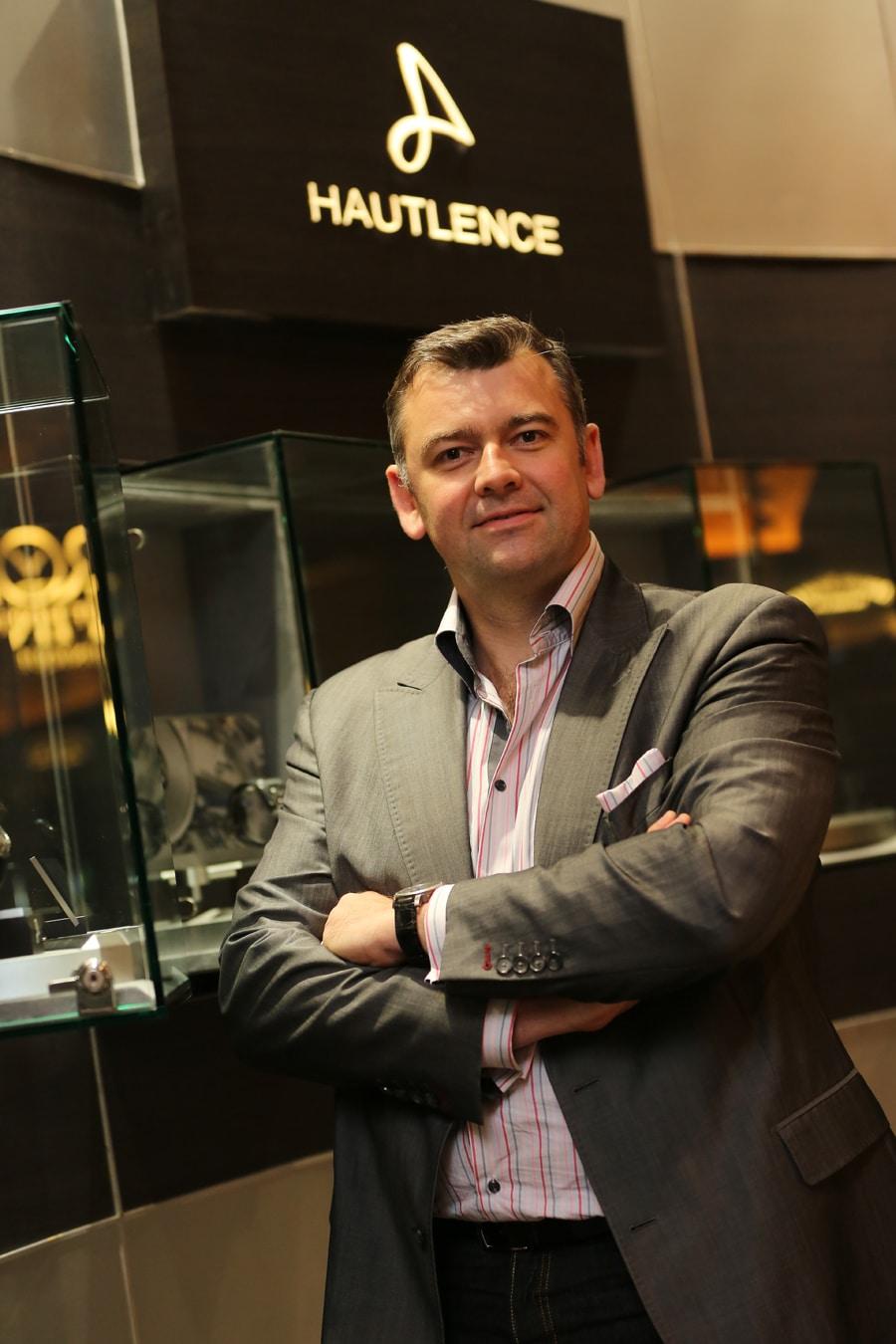 Guillaume Tetu, Mitbegründer und Geschäftsführer von Hautlence