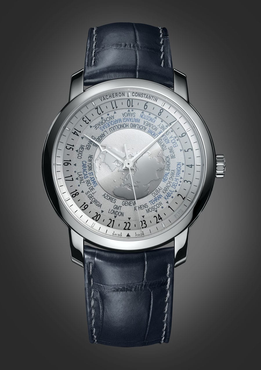 Vacheron Constantin: Patrimony Traditionnelle World Time Collection Excellence Platine