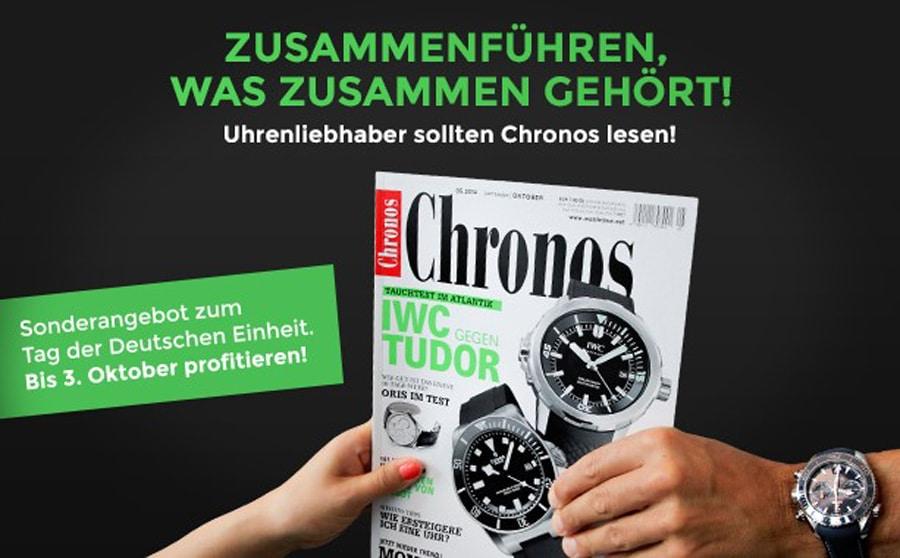 Abo-Sonderangebot: Tag der Deutschen Einheit, Chronos