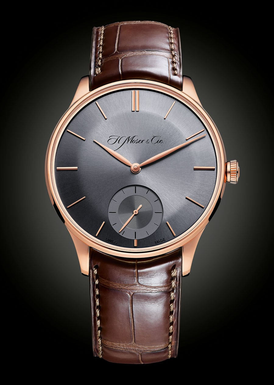 H. Moser & Cie. Venturer Small Seconds mit Ardoise-Zifferblatt