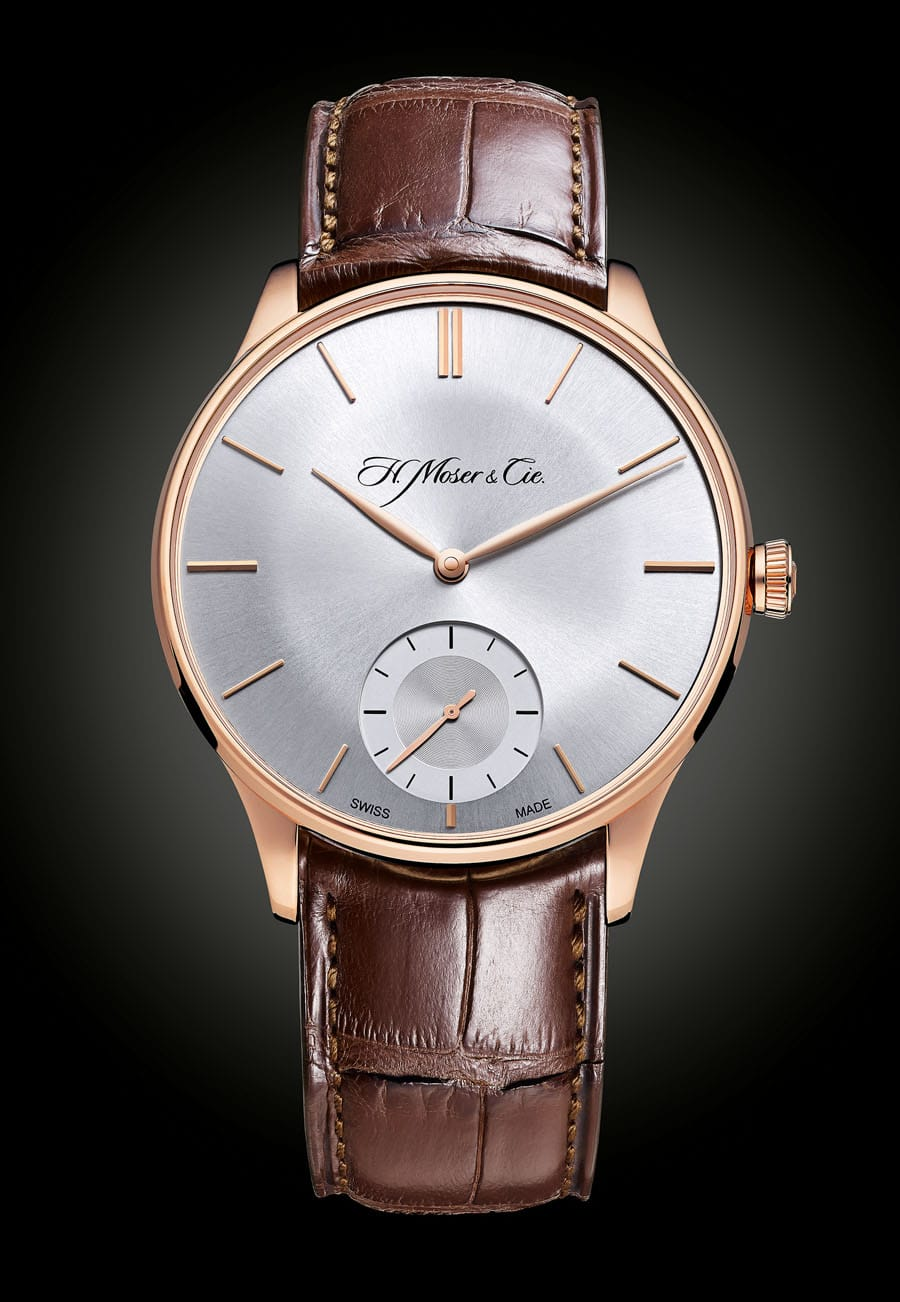 H. Moser & Cie. Venturer Small Seconds mit Argenté-Zifferblatt