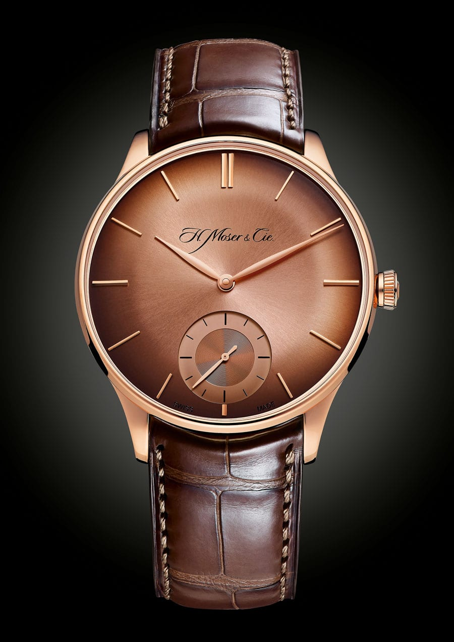 H. Moser & Cie. Venturer Small Seconds mit Rotgold-Fumé-Zifferblatt