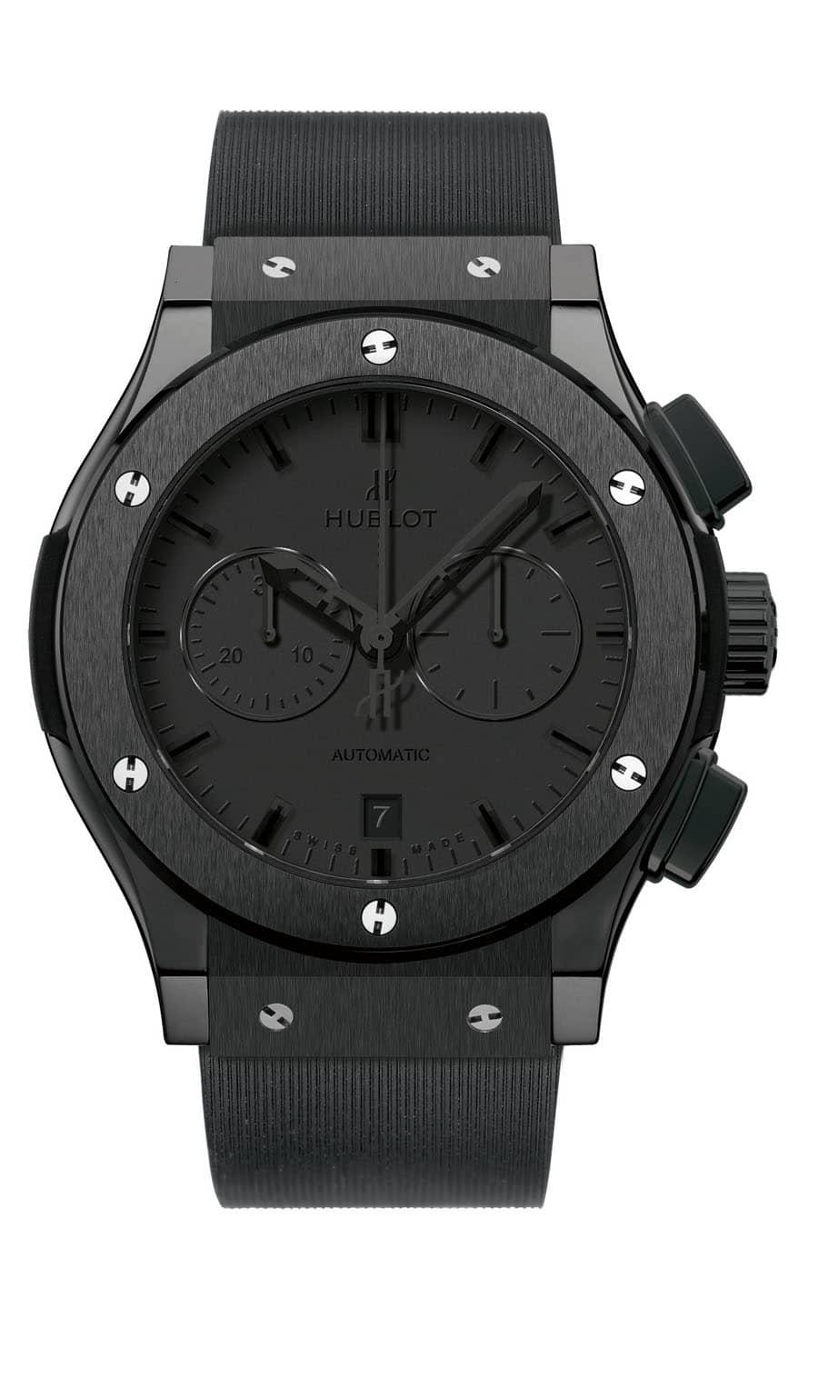 Hublot: Classic Fusion Chronograph 42 mm All Black