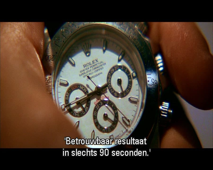 Rolex Daytona im Film Kill Bill II