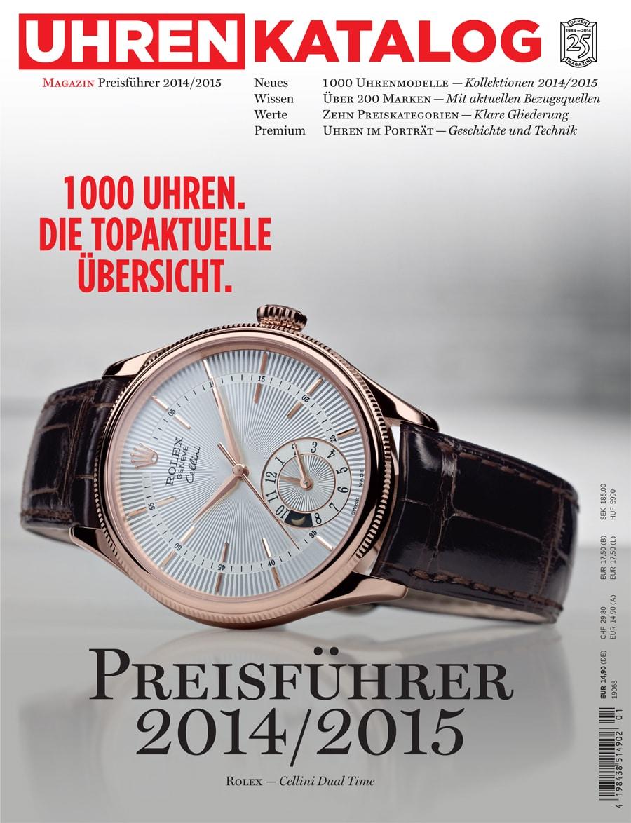 UHREN-MAGAZIN: Preisführer 2014/2015