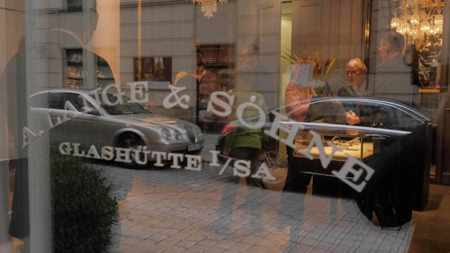 A. Lange Söhne Boutique in der Altstadt von Dresden