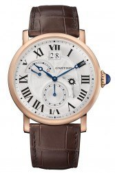 Cartier: Rotonde de Cartier Second Time-Zone in Rotgold