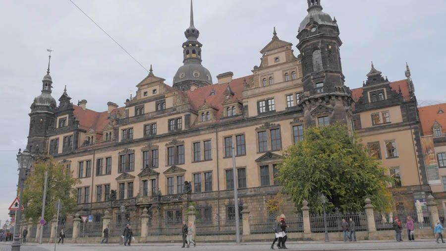 Der zweite Teil des A. Lange & Söhne Gala-Dinners fand im Dresdner Residenzschloss statt.