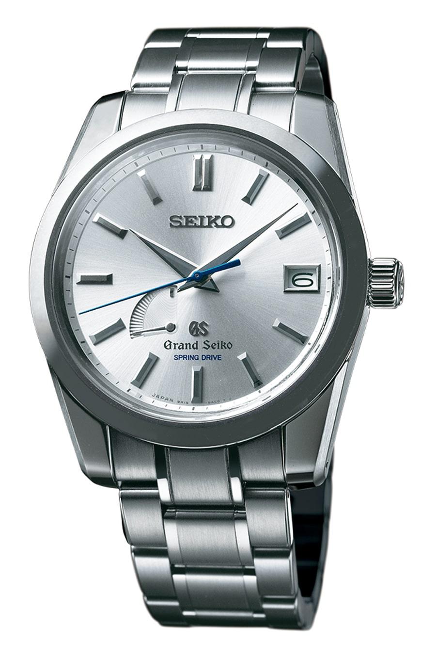 Die Grand Seiko Selfdata SBGA103  bietet mit Spring Drive das weltweit einzige Uhrwerk, das von einer Hauptfeder angetrieben und über eine elektromagnetisches Regulierungssystem gesteuert wird.