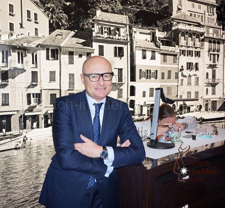 IWC-CEO Georges Kern auf der Watches & Wonders in Hongkong