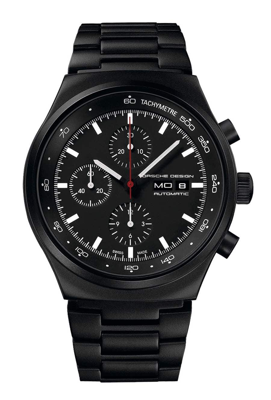 Porsche Design: P'6510 Heritage Black Chronograph 1972 Limited Edition