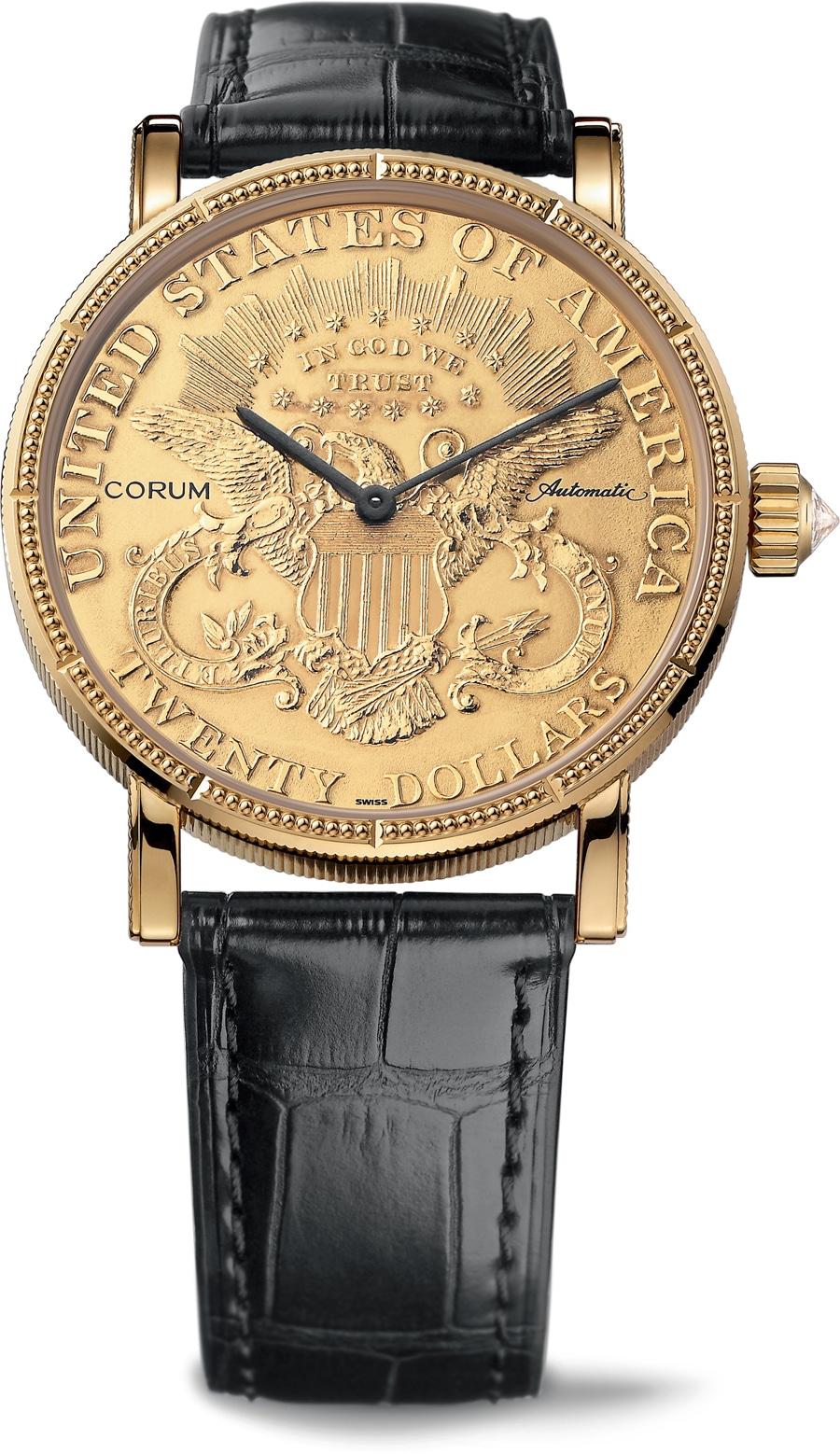 Corum: Heritage Artisans Coin Watch $20