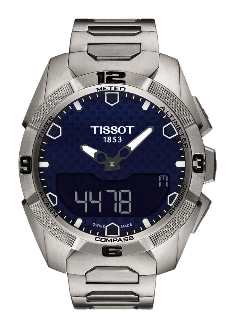 Tissot: T-Touch Expert Solar mit Titanband