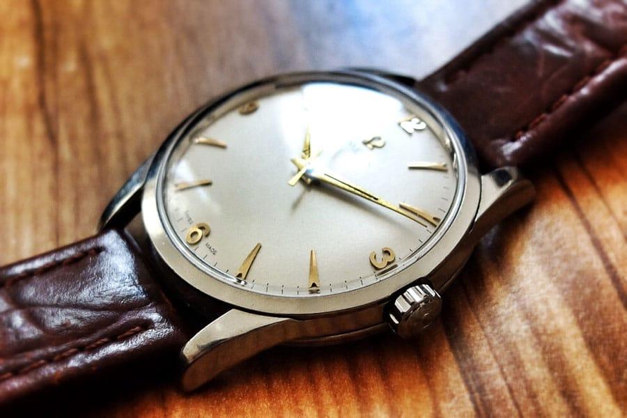 Omega Handaufzug, ca. 50er-Jahre