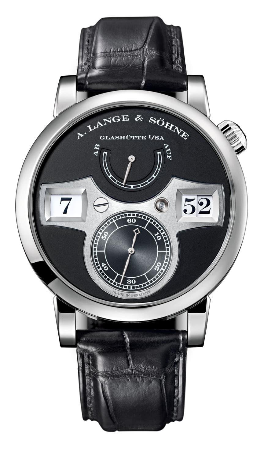 Grund 2: Schon bei der Konstruktion wird das spätere Design der Uhr berücksichtigt (Lange Zeitwerk)