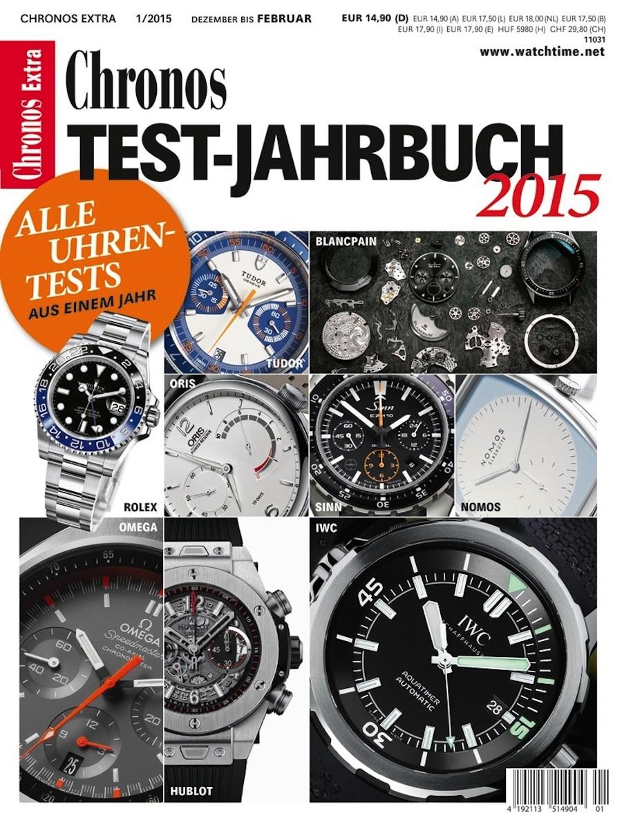 Chronos Test-Jahrbuch 2015