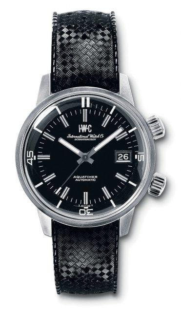 Die erste IWC Aquatimer von 1967. Damals stellte IWC das Modell mit der innen liegenden Drehlünette auf der Basler Messe vor.