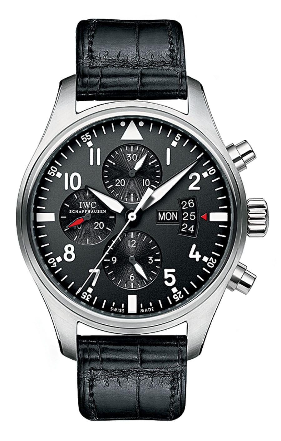 IWC: Fliegeruhr Chronograph