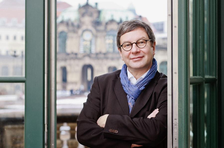 Dr. Peter Plaßmeyer, Direktor des Mathematisch-Physikalischen Salons Dresden (Foto: Jürgen Lösel)