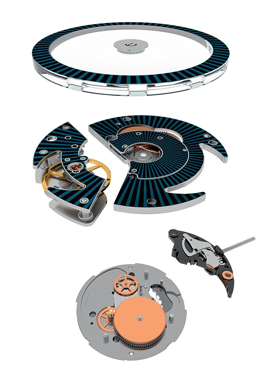 Module der Swatch Sistem51