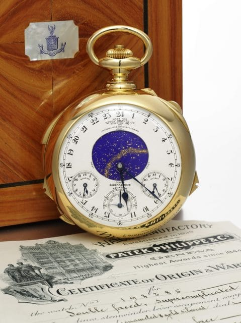 Die Henry Graves Supercomplication von Patek Philippe