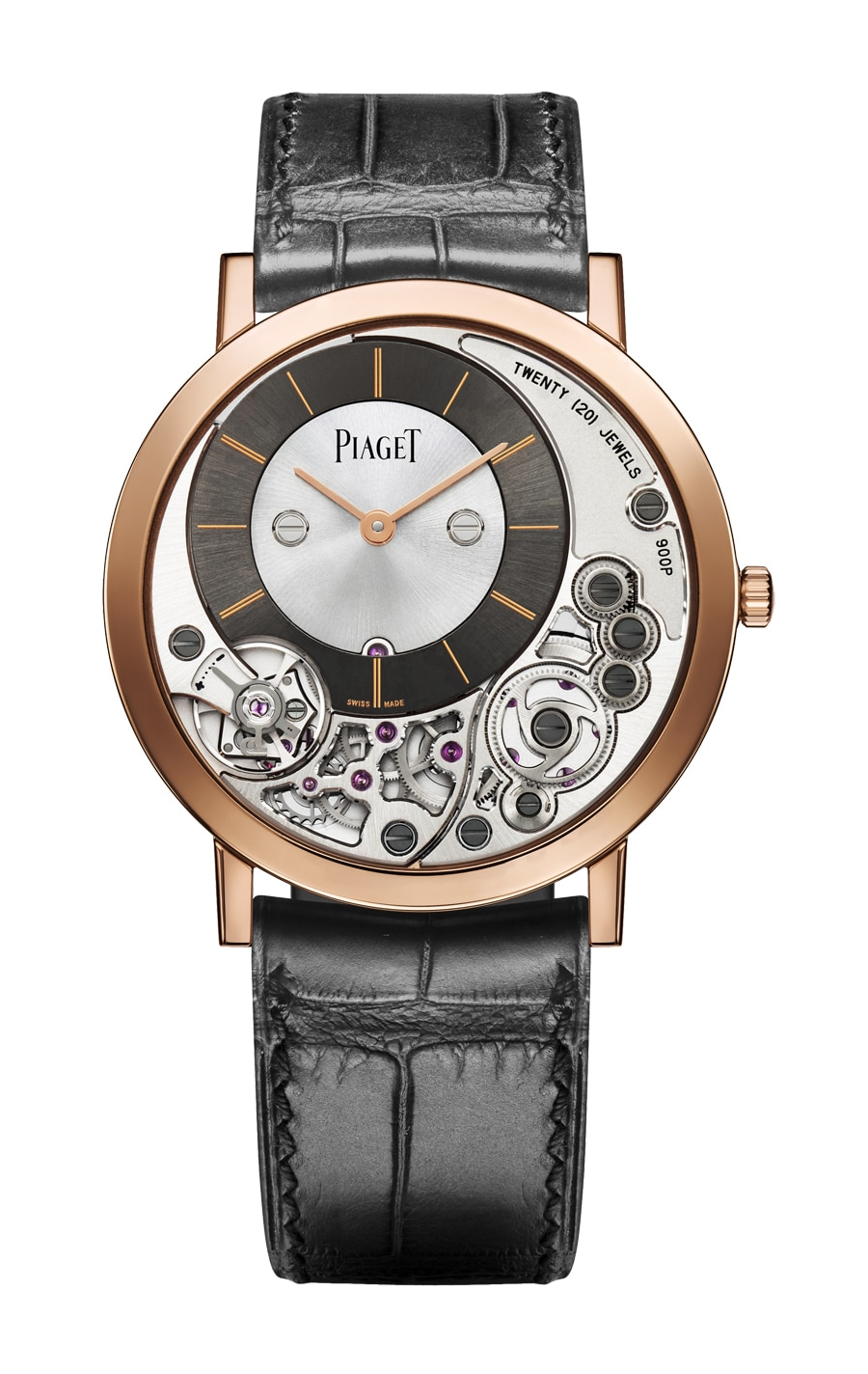 Piaget: Altiplano 38 mm 900P Rotgold