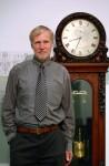 Professor Eduard C. Saluz, Direktor des Deutschen Uhrenmuseums Furtwangen