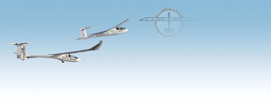 """Seiko unterstützt die Weltrekordflüge von  Icaré 2 im Rahmen seines """"Clean Energy"""" Programms seit dem Jahr 2010."""