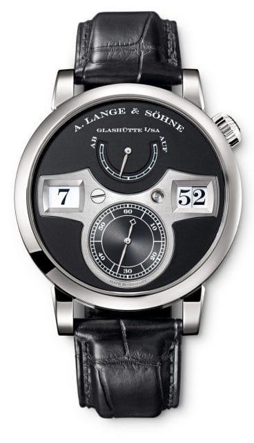 Lange Zeitwerk: Schon bei der Konstruktion wird das spätere Design der Uhr berücksichtigt