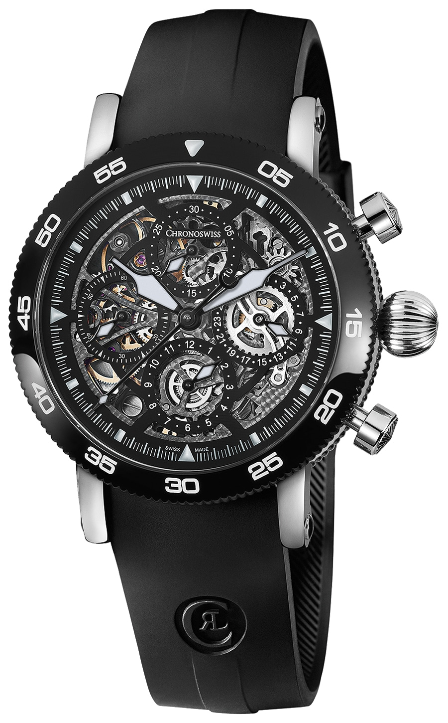 Chronoswiss: Timemaster Chronograph Skeleton