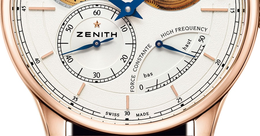 Zenith: Academy Georges Favre Jacot