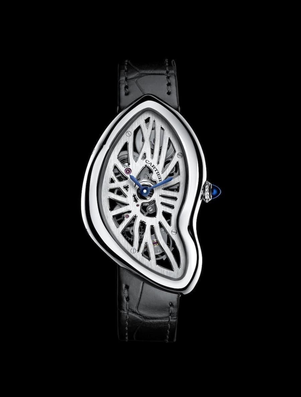 Neue Platin-Uhr aus dem Hause Cartier: Die Crash