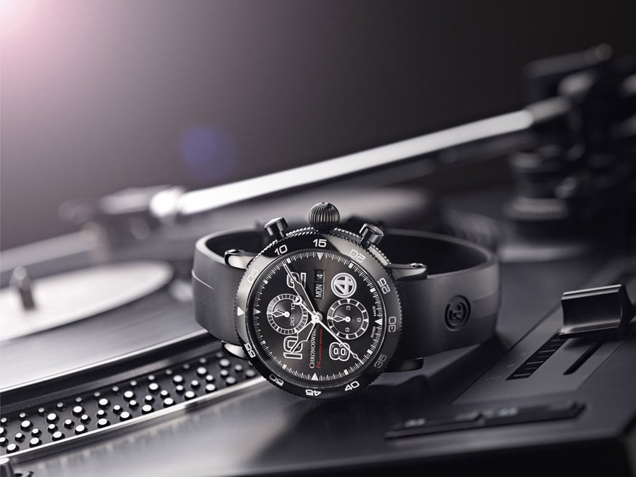 Chronoswiss: Timemaster F4 Limited Edition