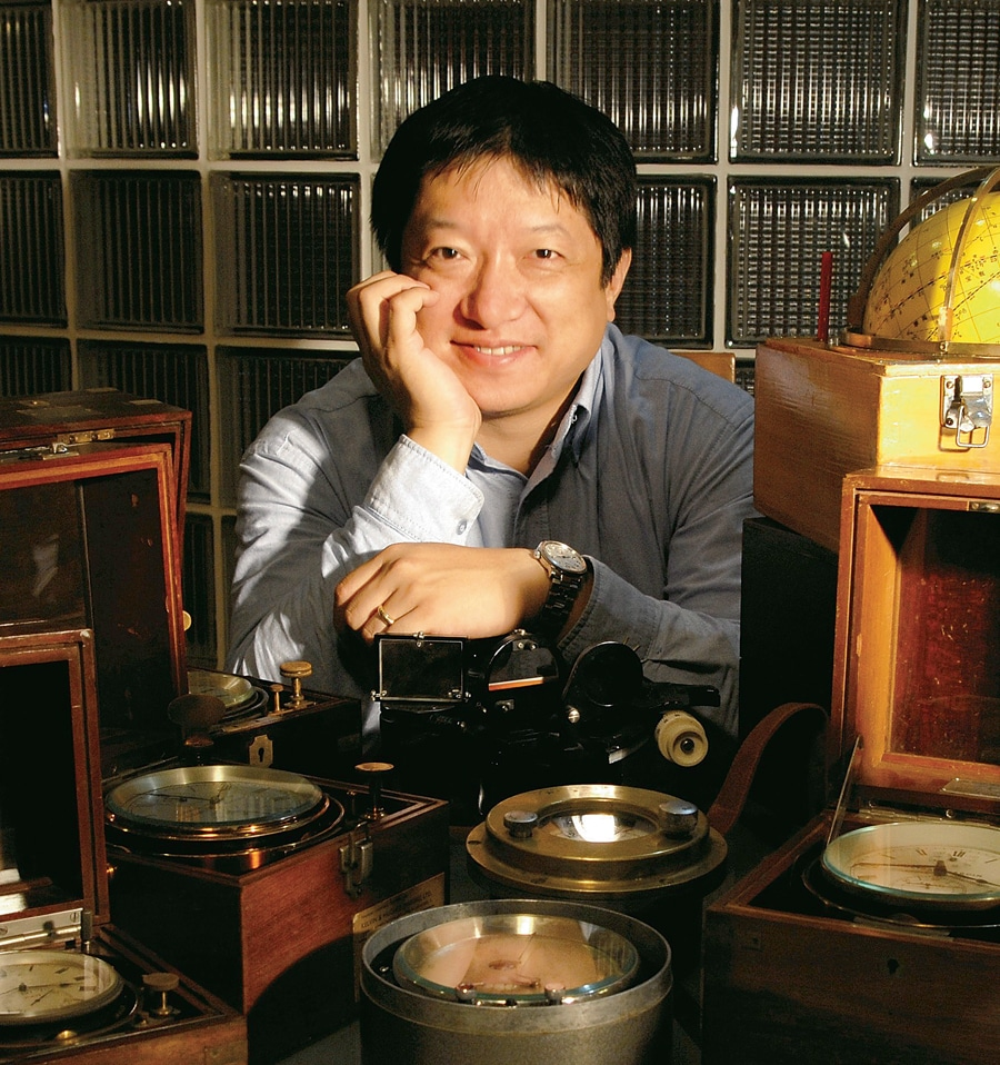 Dr. Zhixiang Ding, Chefredakteur der Chronos China