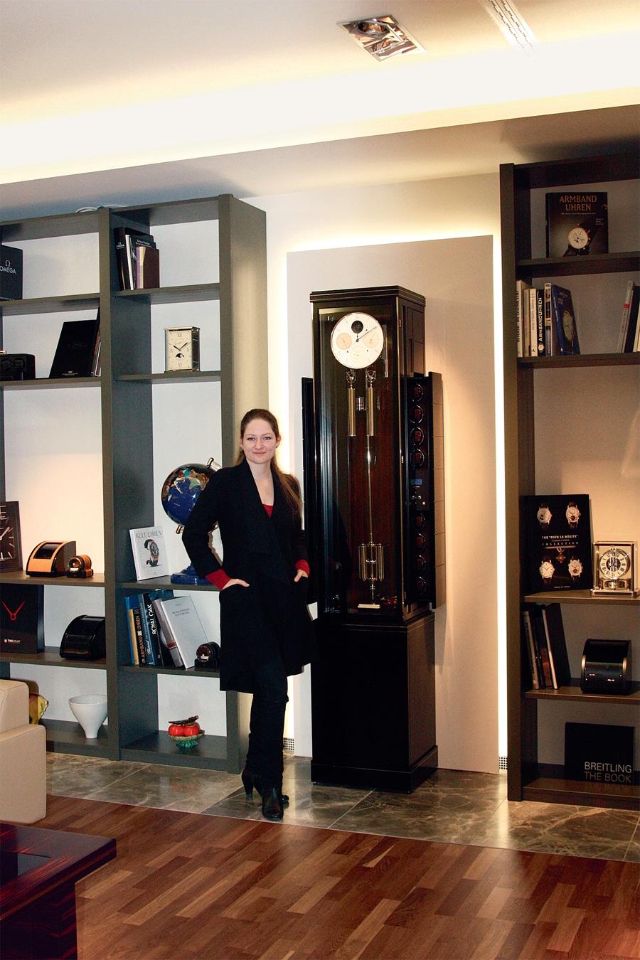 Vanessa Jannasch, Uhrmachermeisterin