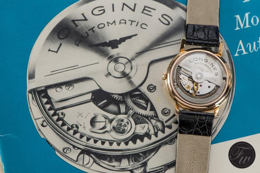 Vintage-Uhr von Longines.
